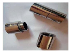 Push on conduit fittings for indoor applications