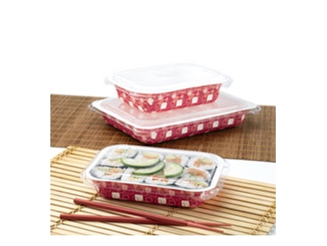 Environmentally Friendly Sushi Trays