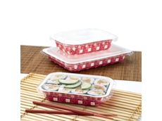 DUALPAK® Dual Ovenable Paper Board Food Containers from Confoil