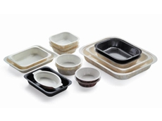 These Dualpak feezable packaging trays are available in a variety of styles and sizes and offer many advantages over CPET trays