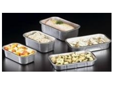 Smooth wall aluminium trays
