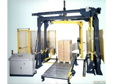 The Siat rotary tower pallet wrapper.