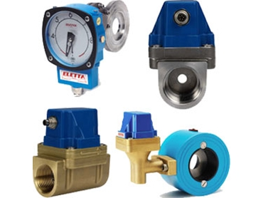 Eletta flow meters and monitors for analysing various liquids and gases