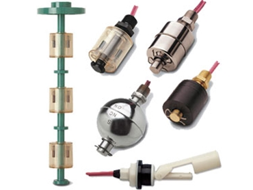 Float Level Switches in a range of designs from Gems Sensors