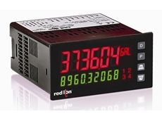 Red Lion PAX2A Panel Meter with Dual Line Display