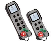 Beta 6 button and Beta 2 button handheld controllers