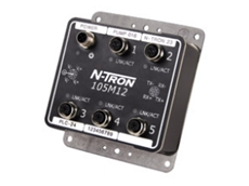 N-TRON 105M12 Industrial Ethernet Switches available from Control Logic