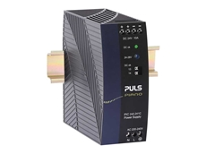 New PULS PIANO series DIN rail mount power supplies from Control Logic