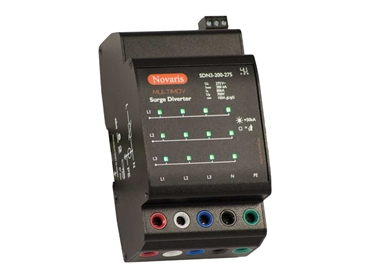 Novaris SDN3 surge diverter with all mode protection