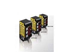 HG-C series distance sensors are available in three sensing distances of 30mm, 50mm and 100mm