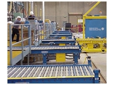 Light and heavy duty roller conveyors