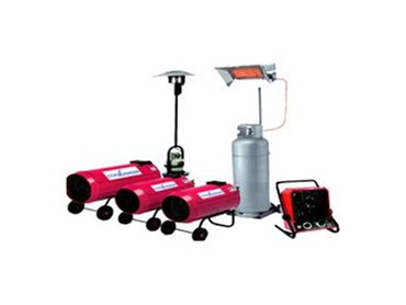 Heater Hire Services - Portable Heaters, Electric Heating Systems, Gas Heaters