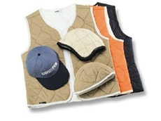 CoolTek garments -- cooling effect lasts up to eight hours.
