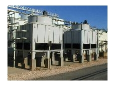 Heat transfer products from cooling towers to evaporative condensers