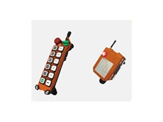 Radio remote controls for cranes