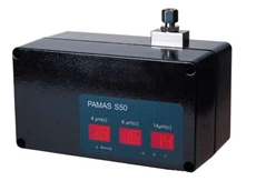 Pamas S50 liquid particle counters