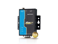 New Moxa efficient serial-to-Ethernet Technology