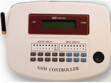 GSM remote control system