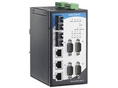 New NPort S8000 Combo switch/serial device server