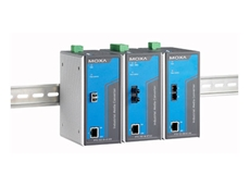 PTC-101 series: IEC 61850-3 and EN50155 Ethernet-to-fiber media converters from CrispTech