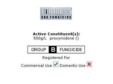 Fungicide : Fortress 500 From Crop Care