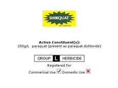 Shirquat 250 Herbicide From Crop Care