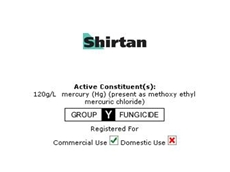 Shirtan Fungicide From Crop Care