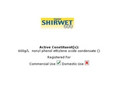 Shirwet 600 Spreader / Activator From Crop Care