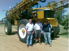 Doug Upcroft Director of Cornishs , Middle is Luke Godber, Right is David Jackson (Jacko)