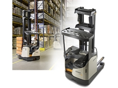 Crown range of Reach Trucks from Crown Equipment