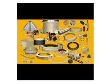 A full range of parts for crushing equipment