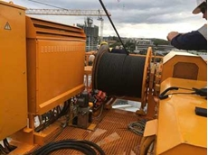 Morrow Equipment sought a suitable emergency brake package that could be retrofitted to the existing hoist drum