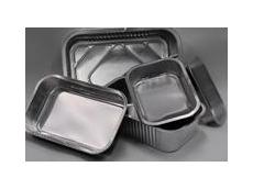 Smooth wall aluminium trays