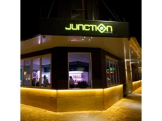 LED lighting at Junction Hotel