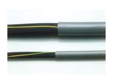 Lapp Olflex-110 flexible cables with numbered cores.