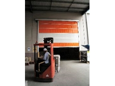 Airflex panels for high speed roll doors