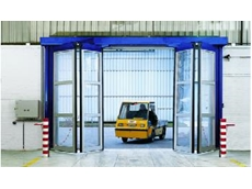 Aluminium High Speed Folding Doors