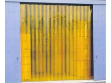 Anti insect yellow PVC protection enhances Visiflex Strip Door