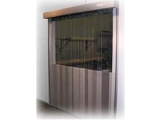 DMF International announces AUTO BiFLEX flexible PVC doors