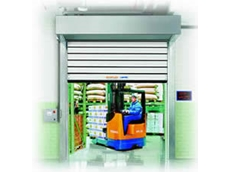 DMF International doors,  well suited to a variety of applications in the refrigeration industry