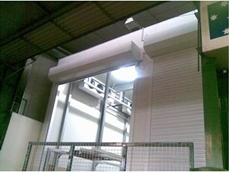 Insulated Roller Shutter door