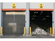 High speed doors for waste management