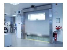 Efaflex clean room roll doors