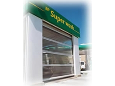 Rapid roller doors for carwashes