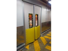 DMF climate control swing doors