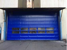 DMF now supplying high speed fold up doors over 10 metres