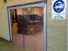 DMF releases new climate control PVC swing doors