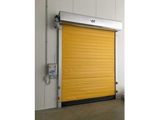 Coldsaver high speed insulated roll door