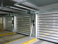 Efaflex High Speed Doors for Carpark Security