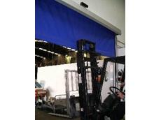 Flexible bottom rail for high speed doors from DMF International